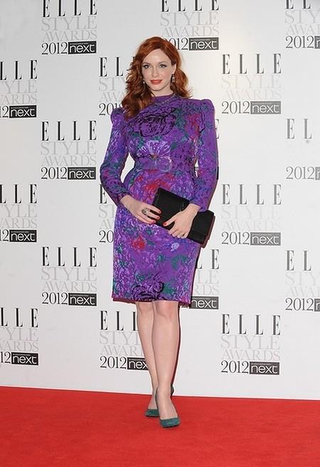 Kreacje na Elle Style Awards (FOTO)/Christina Hendricks