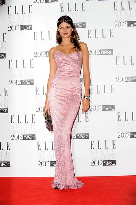 Kreacje na Elle Style Awards (FOTO)/Isabeli Fontana