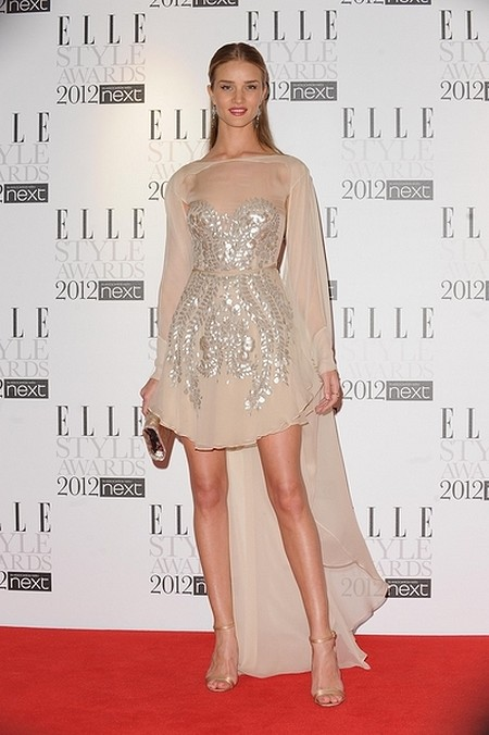 Kreacje na Elle Style Awards (FOTO)/   <br /> Rosie Huntington-Whiteley