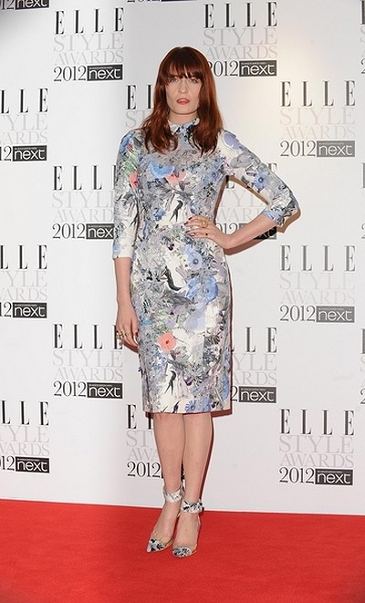 Kreacje na Elle Style Awards (FOTO)/Florence Welch