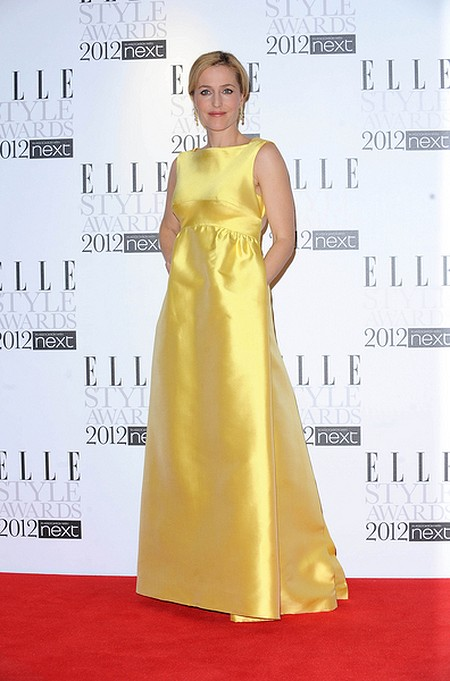 Kreacje na Elle Style Awards (FOTO)/Gillian Anderson