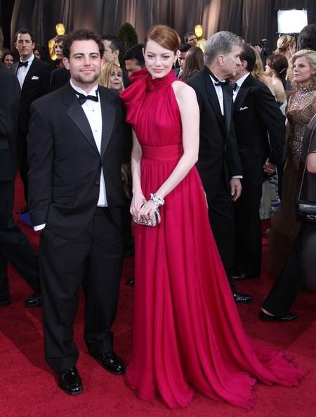 Emma Stone monochromatycznie na Oscarach