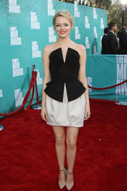 Kreacje na MTV Movie Awards (FOTO)/Emma Stone