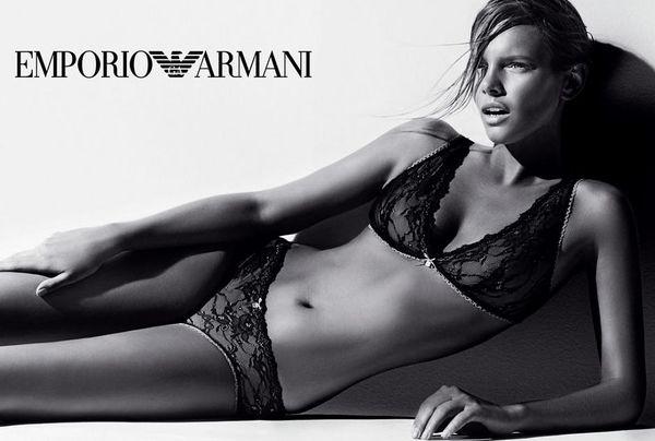 Marloes Horst twarzą linii Armani Underwear