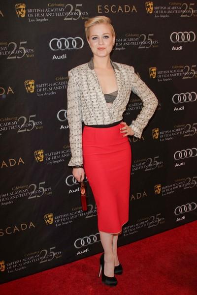 Gwiazdy na imprezie BAFTA (FOTO)/Evan Rachel Wood