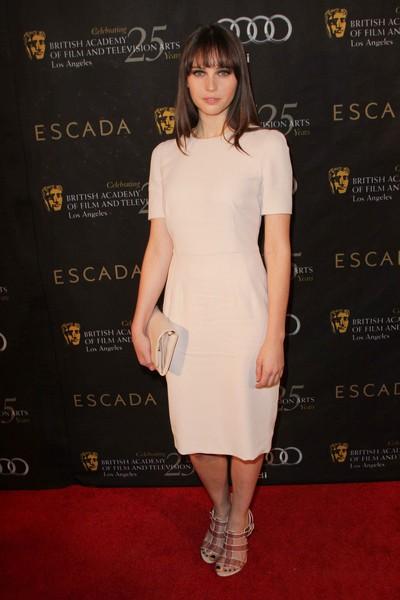 Gwiazdy na imprezie BAFTA (FOTO)/Felicty Jones