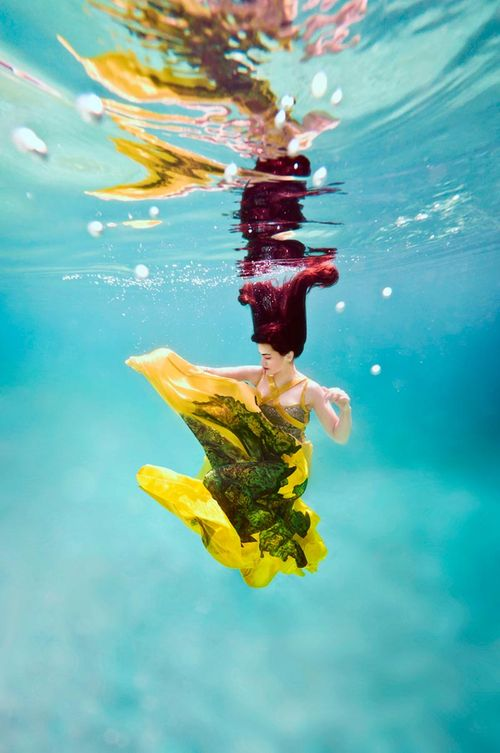 Podwodna sesja zdjęciowa (FOTO)
