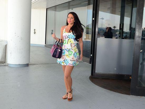 Najseksowniejsza kobieta świata w sukience w literki