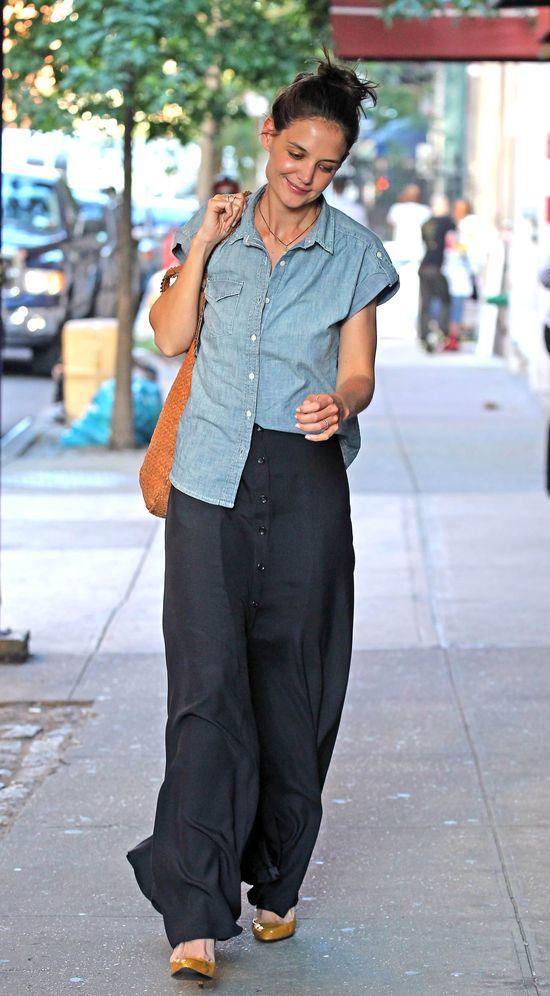 Niechlujna Katie Holmes (FOTO)