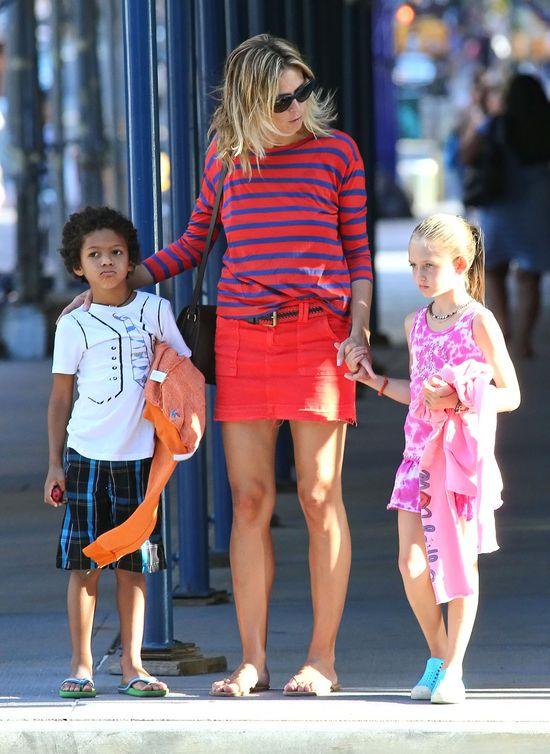 Tak Heidi Klum ubiera się na co dzień (FOTO)