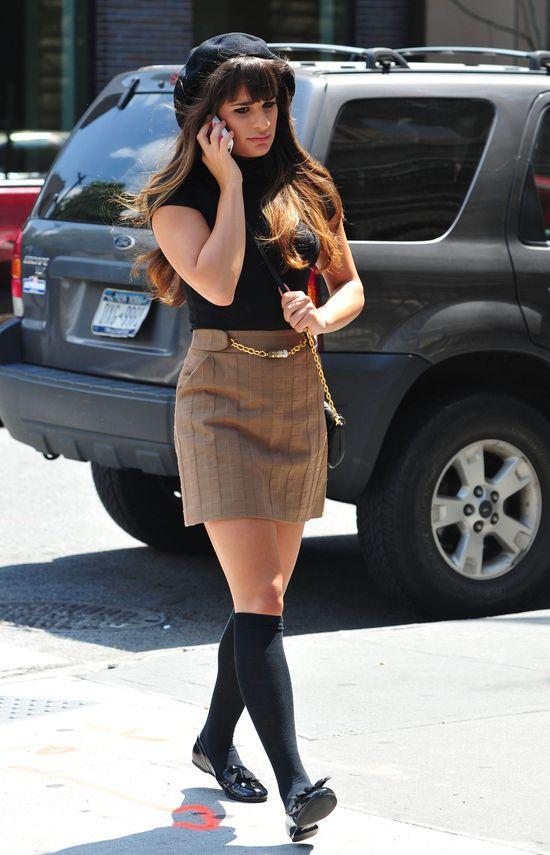 Pierwsze stylizacje Lei Michele z najnowszego sezonu Glee