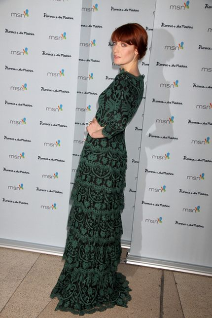 Florence Welch także pokochała koronki (FOTO)