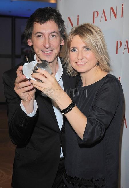 Gala Srebrne Jabłka Pani (FOTO)/Maciej Miecznikowski z żoną