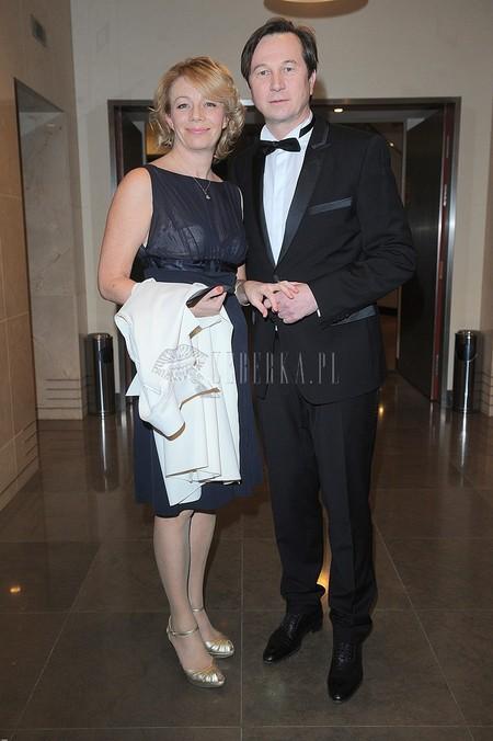 Gala Srebrne Jabłka Pani (FOTO)/Piotr Cyrwus z żoną