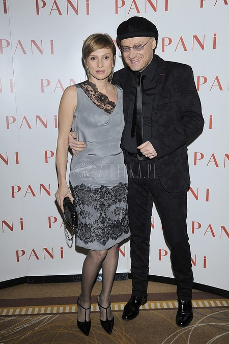 Gala Srebrne Jabłka Pani (FOTO)/Robert Janson z żoną