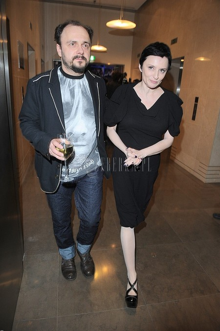Gala Srebrne Jabłka Pani (FOTO)/Arkadiusz Jakubik z żoną