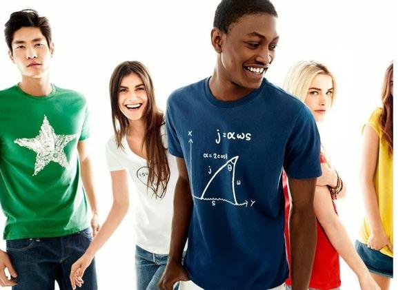 Najnowsza kolekcja t-shirtów Gap (FOTO)