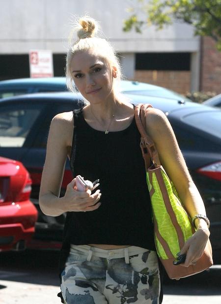 Naturalny look Gwen Stefani (FOTO)