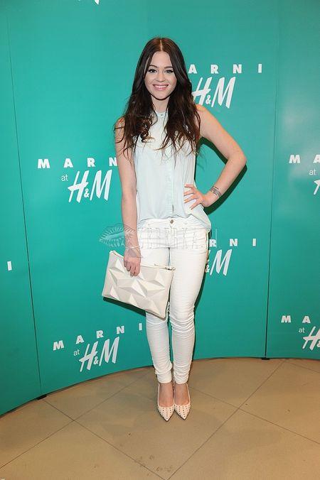 Gwiazdy na premierze Marni w H&M (FOTO)/Honorata Honey Skarbek   <br />
