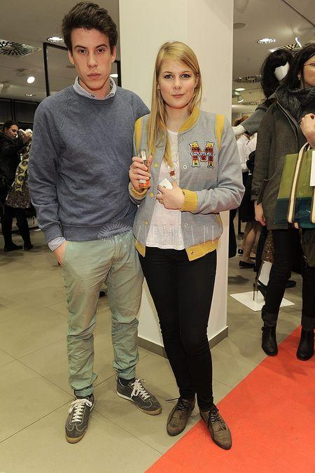 Gwiazdy na premierze Marni w H&M (FOTO)/  <br /> Marta Wierzbicka z partnerem