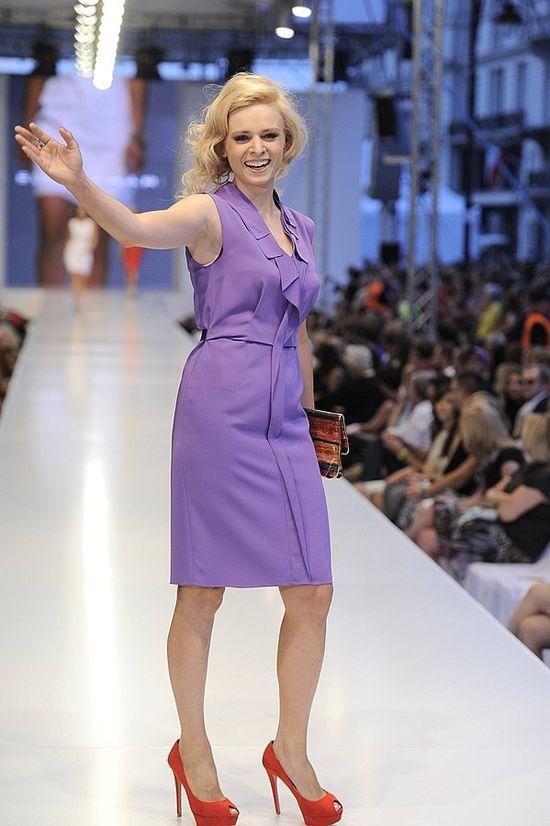 Gwiazdy na wybiegu podczas Warsaw Fashion Street
