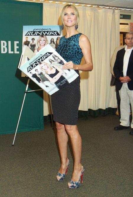 Heidi Klum seksowna w Dolce & Gabbana (FOTO)