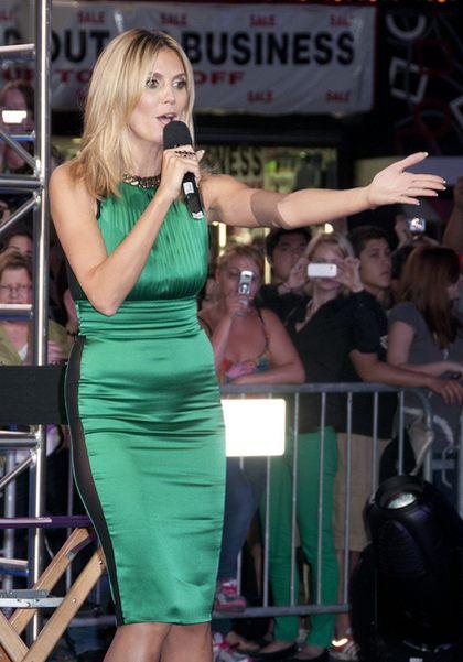 Nietrafiona stylizacja Heidi Klum (FOTO)