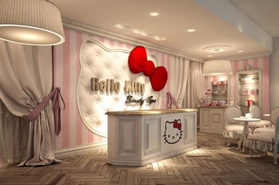 Pierwsze na świecie spa Hello Kitty! (FOTO)