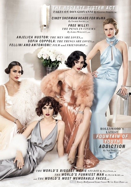 Wschodzące gwiazdy kina w Vanity Fair