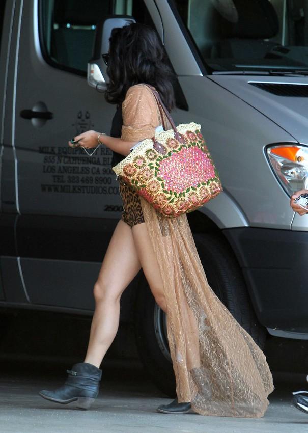 Vanessa Hudgens w stylu boho