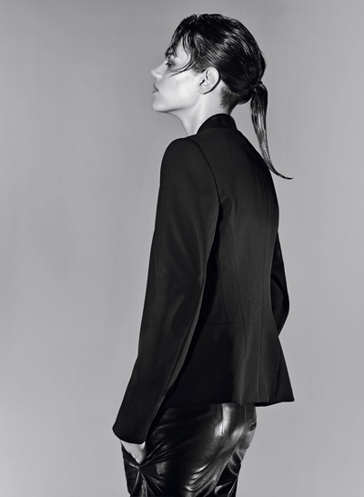 Freja Beha Erichsen w kampanii marki Hugo Boss