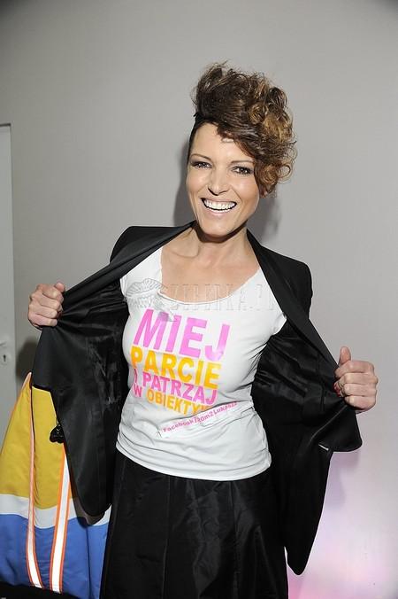 Ilona Felicjańska na koszulce umieściła swoje motto? (FOTO)