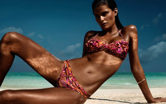 Isabeli Fontana dla H&M Beach Sensation