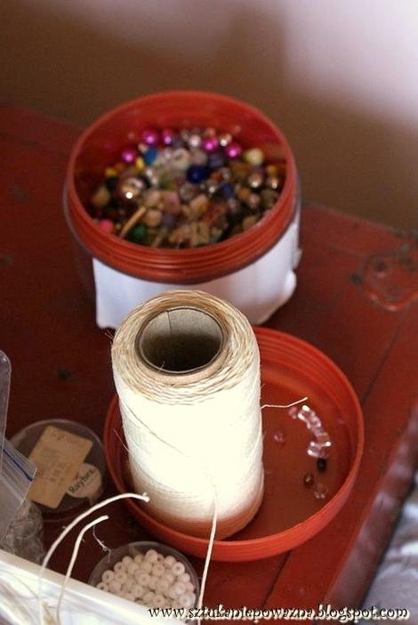 Zrób to sama: eko-naszyjnik z lnu (FOTO)
