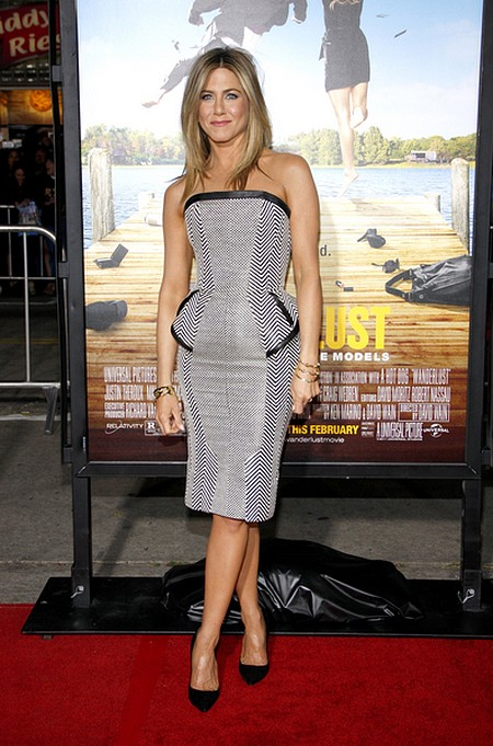 Jennifer Aniston w sukience Toma Forda (FOTO)