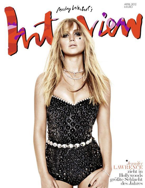 Jennifer Lawrence w Dolce & Gabbana