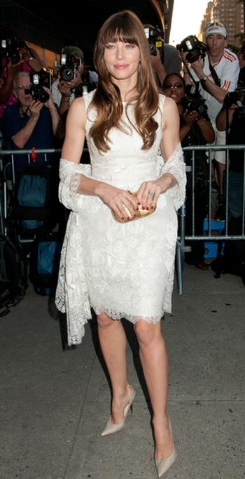 Jessica Biel w Elie Saab (FOTO)