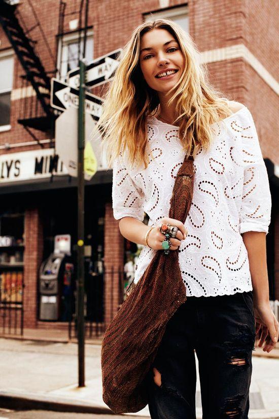Jessica Hart w kampanii marki Maison Scotch (FOTO)