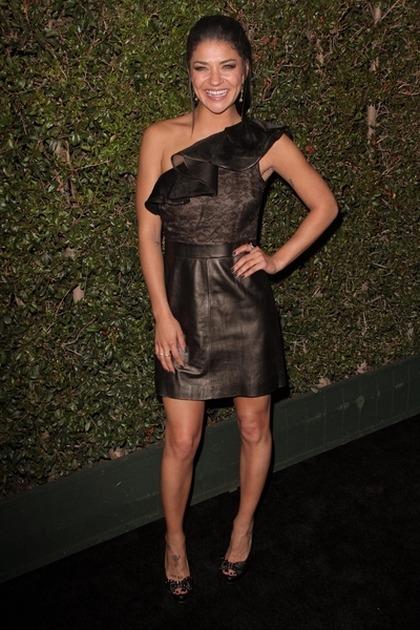 Jessica Szohr Gwiazdy świętują 50-lecie marki Valentino