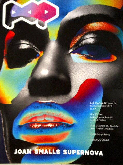 Trzy okładki pięknej Joan Smalls