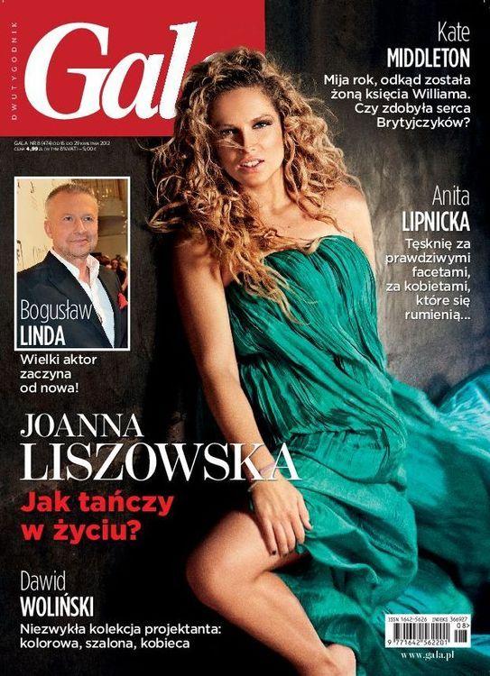 Seksowna Joanna Liszowska w Gali