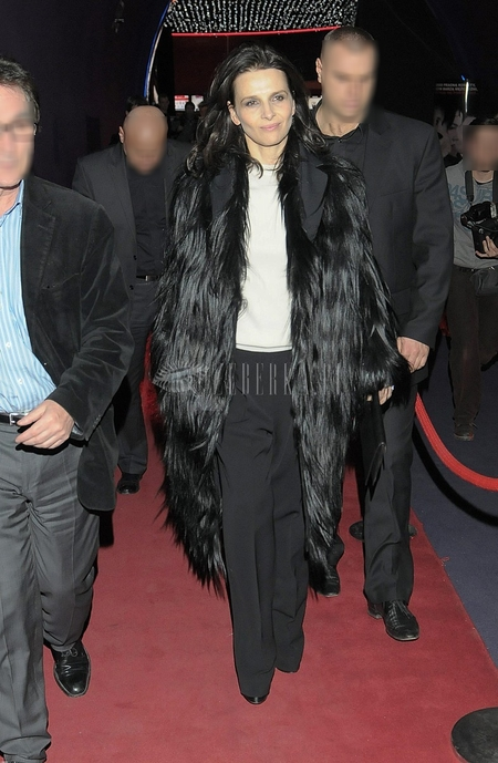 Juliette Binoche Premiera filmu Sponsoring