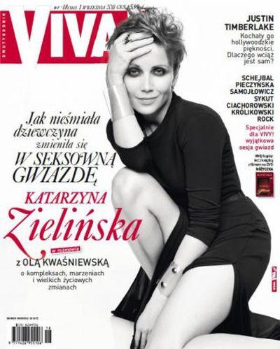 Kasia Zielińska w najnowszej Vivie!