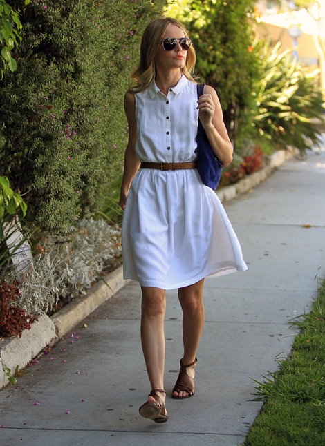 Stylowy letni look Kate Bosworth (FOTO)