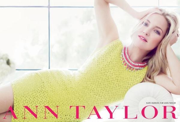 Kate Hudson twarzą marki Ann Taylor