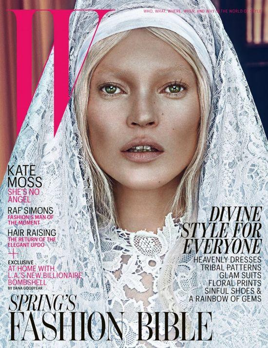 Dwa wcielenia Kate Moss (FOTO)