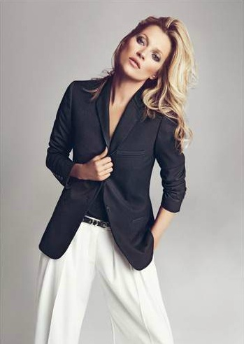 Kate Moss po raz kolejny dla Mango jesień 2012