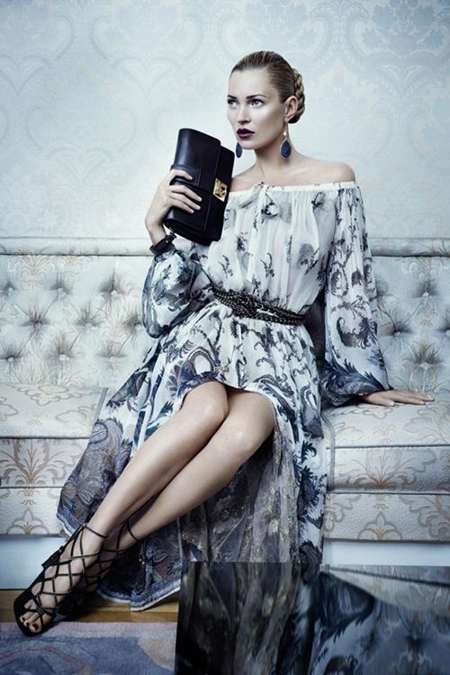 Kate Moss twarzą Salvatore Ferragamo (FOTO)