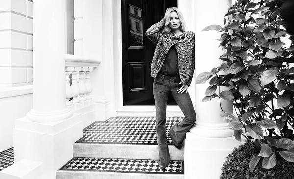 Kate Moss dla Liu Jo (FOTO)