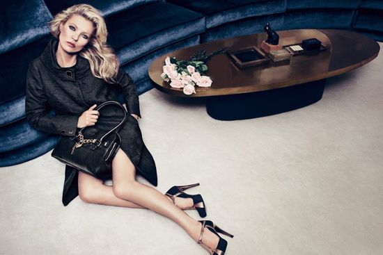 Kate Moss w jesiennej kampanii Liu Jo (FOTO)